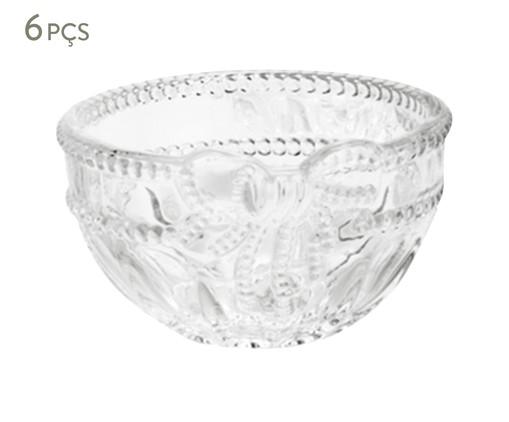 Jogo de Bowls em Cristal Royal Transparente - 06 Pessoas, Transparente | WestwingNow