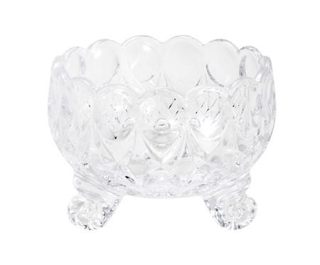 Jogo de Bowls com Pé em Cristal Angélica - Transparente | WestwingNow