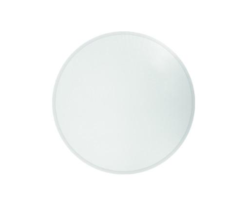 Espelho de Parede Redondo Bisotê Zagalo - 80cm, prata | WestwingNow