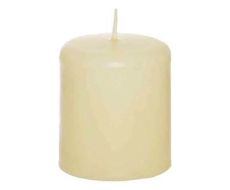 Vela Cilíndrica White Marfim - Bege | WestwingNow
