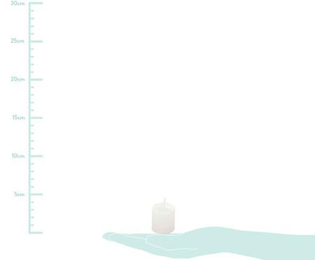 Jogo de 10 Velas Cilíndricas Anderson Branca - 3,5x3,5cm | WestwingNow