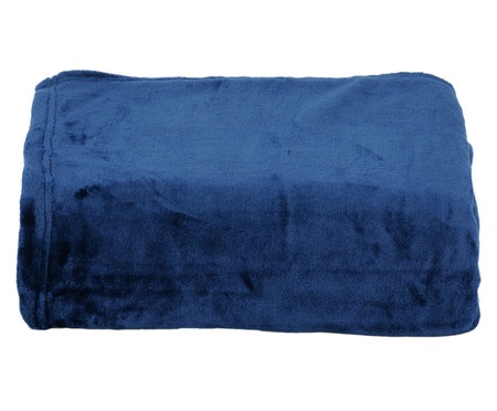 Cobertor Sweet Dream 300G/M² - Azul Marinho | WestwingNow