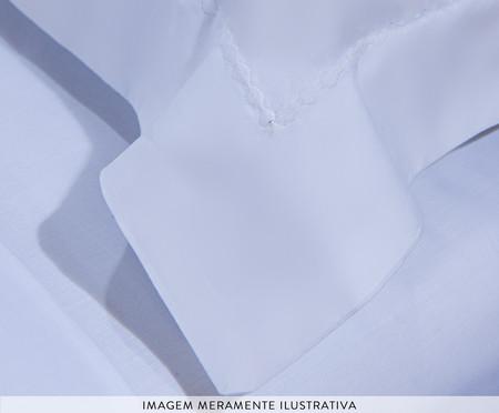 Jogo de Lençol Bordado Hotel Branco - 200 Fios | WestwingNow