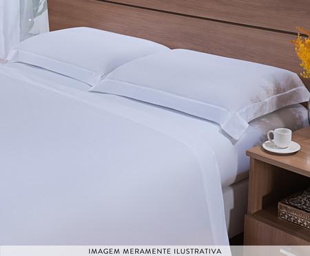 Jogo de Lençol Bordado Hotel em Algodão 200 fios - Branco | WestwingNow