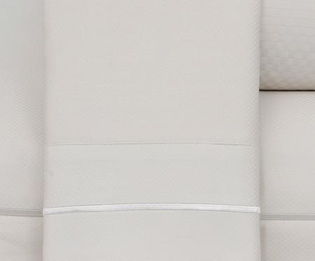 Jogo de Lençol Paris Marfim Acetinado - 300 Fios | WestwingNow