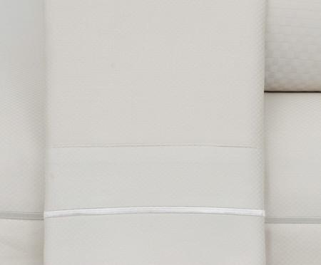 Jogo de Lençol Paris Marfim Acetinado 300 fios - Bege | WestwingNow