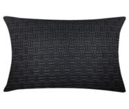 Fronha de Travesseiro em Tricô Ivy - Preto | WestwingNow