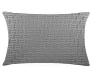 Fronha de Travesseiro em Tricô Ivy - Cinza | WestwingNow
