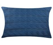 Fronha em Tricô Madeleine - Azul | WestwingNow