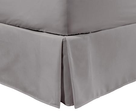 Saia para Cama Box Ive Cinza Urbano - 200 Fios | WestwingNow