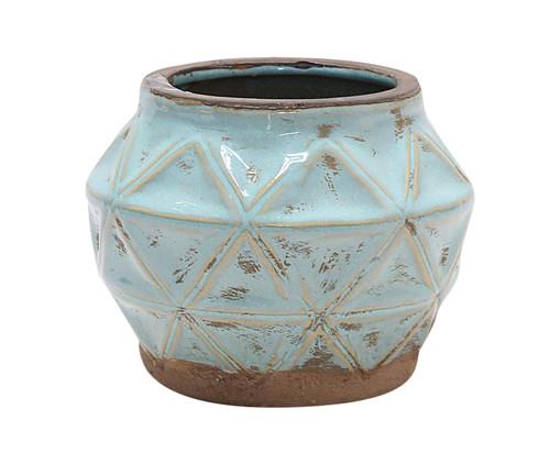 Cachepot Cerâmica Luna - Branco, Branco | WestwingNow