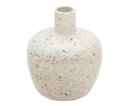 Vaso em Porcelana Coleen - Branco, Branco | WestwingNow