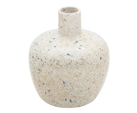 Vaso em Porcelana Coleen - Branco | WestwingNow