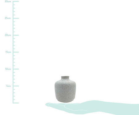 Vaso de Cerâmica Leanna - Branco   WestwingNow