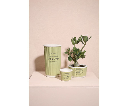 Cachepot Pottery ll - Verde | WestwingNow