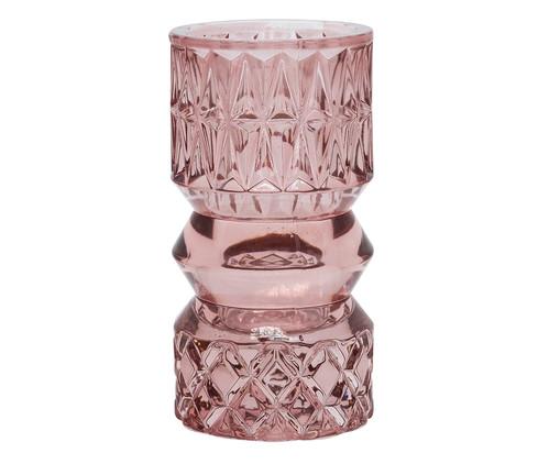 Vaso de Vidro Mildred - Rosa, Rosa | WestwingNow