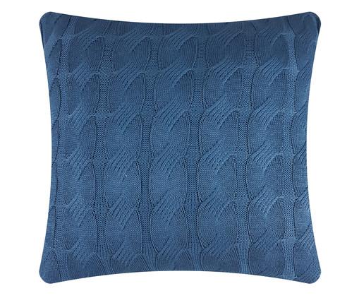 Capa de Almofada em Tricô Clarice - Azul, Azul | WestwingNow