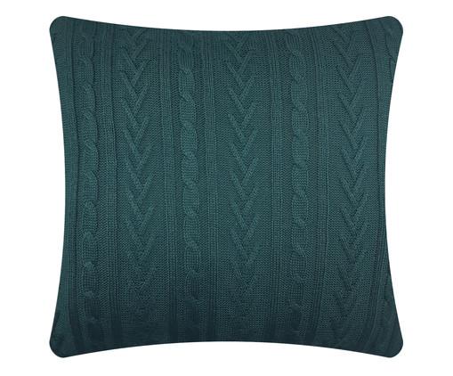 Capa de Almofada em Tricô Julia - Verde, Verde | WestwingNow