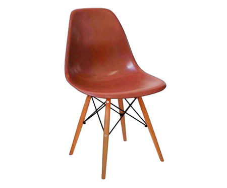 Cadeira Eames Wood - Café | WestwingNow