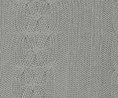 Capa de Almofada em Tricô Plot - Cinza | WestwingNow