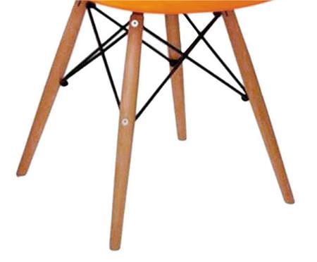 Cadeira Eames Wood - Laranja | WestwingNow