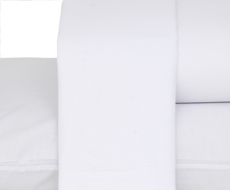 Jogo de Lençol Premier Branco - 180 Fios   WestwingNow