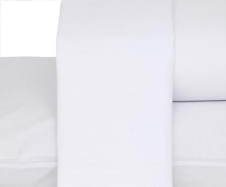 Jogo de Lençol Premier Branco - 180 Fios | WestwingNow