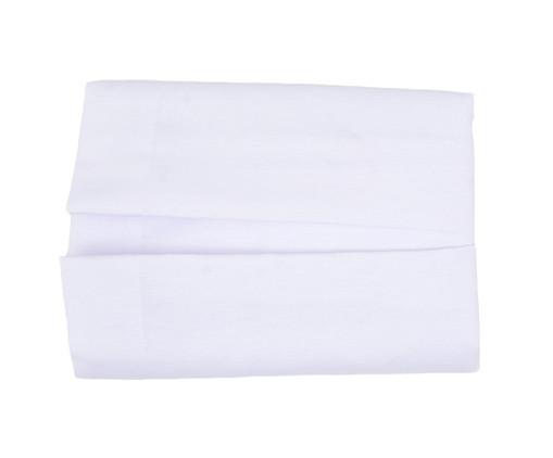Saia para Cama Box Gorgurão - Branca, Branco | WestwingNow