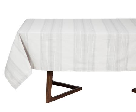 Toalha de Mesa de Algodão Soreli - Cinza | WestwingNow