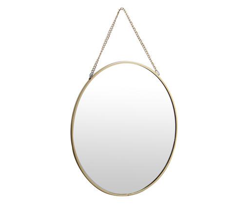 Espelho de Parede Liz - Prateado, Dourado, Espelhado | WestwingNow