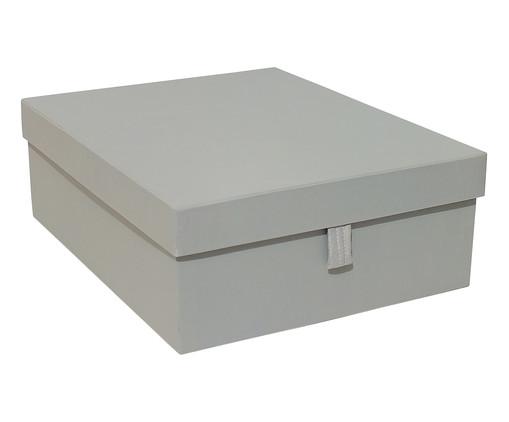 Caixa Organizadora com Puxador Graceful Cinza, cinza | WestwingNow