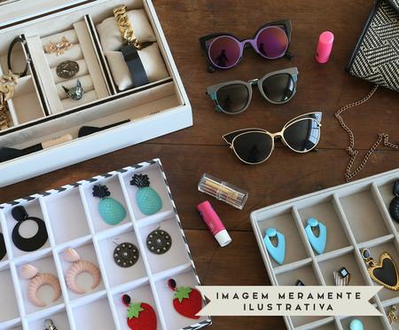 Caixa Organizadora para Óculos em Veludo Lisa | WestwingNow