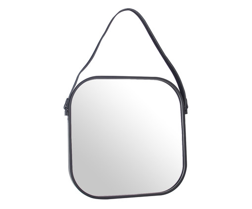 Espelho de Parede Jamil - Preto, Preto, Espelhado | WestwingNow