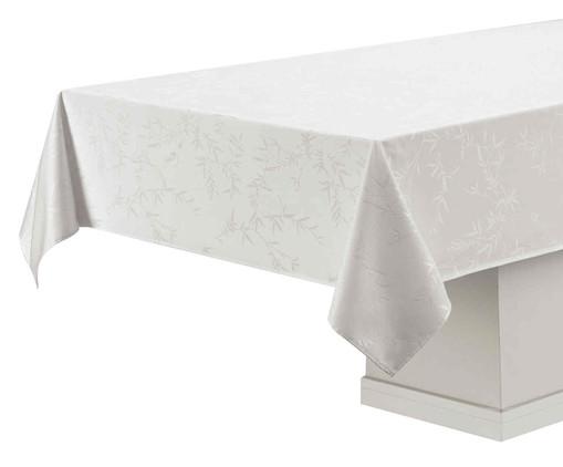 Toalha de Mesa de Algodão Veríssimo - Branca, cinza | WestwingNow