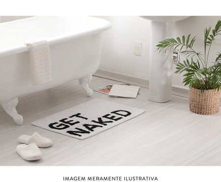 Tapete de Banheiro Get Naket | WestwingNow