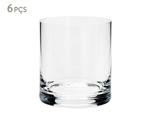 Jogo de Copos para Uísque em Cristal Staci - Transparente, Transparente | WestwingNow