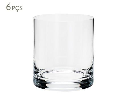 Jogo de Copos para Uísque em Cristal Staci - Transparente | WestwingNow