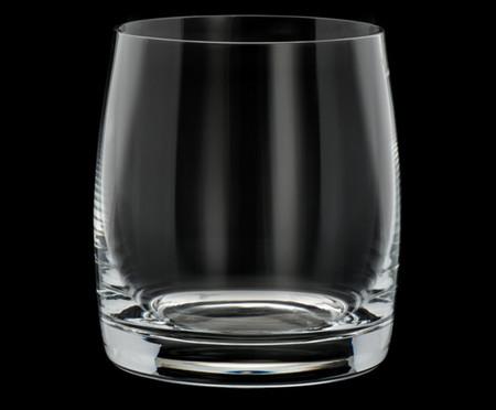 Jogo de Copos para Uísque em Cristal Gero - Transparente | WestwingNow