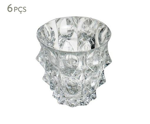 Jogo de Copos para Uísque em Cristal Gala - Transparente, Transparente | WestwingNow