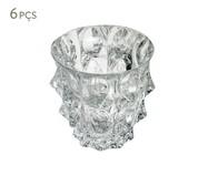 Jogo de Copos para Uísque em Cristal Gala - Transparente | WestwingNow