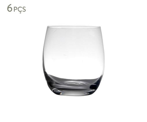 Jogo de Copos para Uísque em Cristal Chang - Transparente, Transparente | WestwingNow