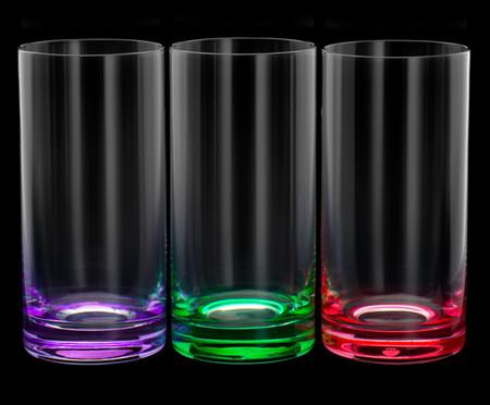 Jogo de Copos para Água em Cristal Dom - Colorido | WestwingNow