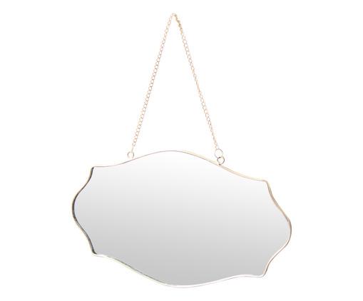 Espelho de Parede Aldo - Prateado, Espelhado | WestwingNow