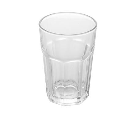 Jogo de Copos para Água em Vidro Jami - Transparente | WestwingNow