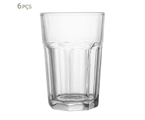 Jogo de Copos para Água em Vidro Jami - Transparente, Transparente | WestwingNow