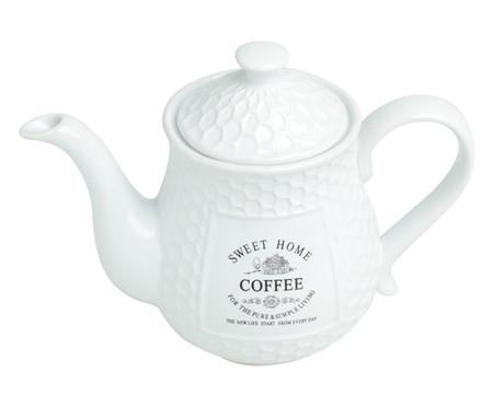 Bule para Café em Porcelana Sweet Home - Branco | WestwingNow