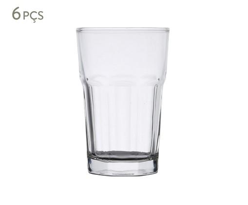 Jogo de Copos para Água em Vidro Rose - Transparente, Transparente | WestwingNow