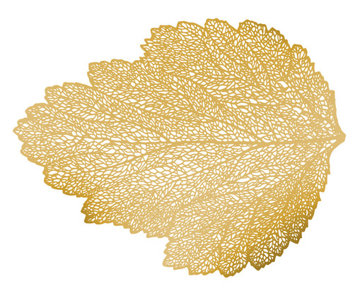 Lugar Americano de Plástico Forest - Dourado, Dourado | WestwingNow