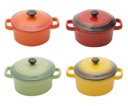 Jogo de Caçarolas em Porcelana Colors | WestwingNow