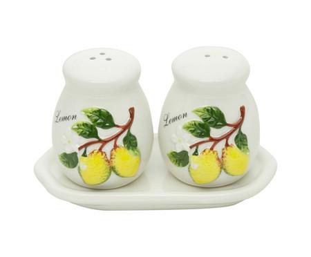 Jogo de Saleiro e Pimenteiro Lemons - Branco | WestwingNow
